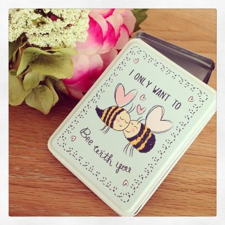 50% OFF I Only Want To Bee With You Cute Tin